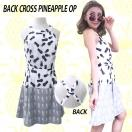 SALE LAimport  Back cross pineapple onepiece