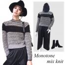 SALE Monotone mix knit(MLT)