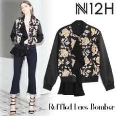 SALE【60%OFF】N12H Ruffled Lace Bomber(MLT)