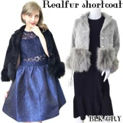 【★】Realfur shortcoat(BLK/GRY)