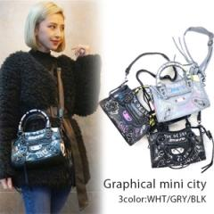 【再入荷】Graphical mini city(WHT/GRY/BLK)