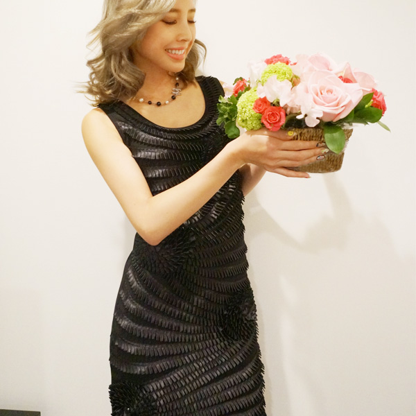 SALE【60%OFF】NYimport Corsage pleats dress(BLK)