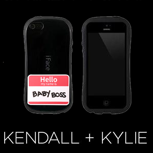 KENDALL + KYLIE LEATHER STICKERS(2TYPE)