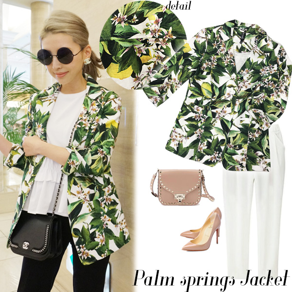 SALE NYimport Palm springs jacket(MLT)