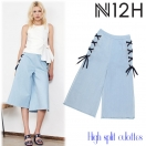 N12H High split culottes(L/BLU)