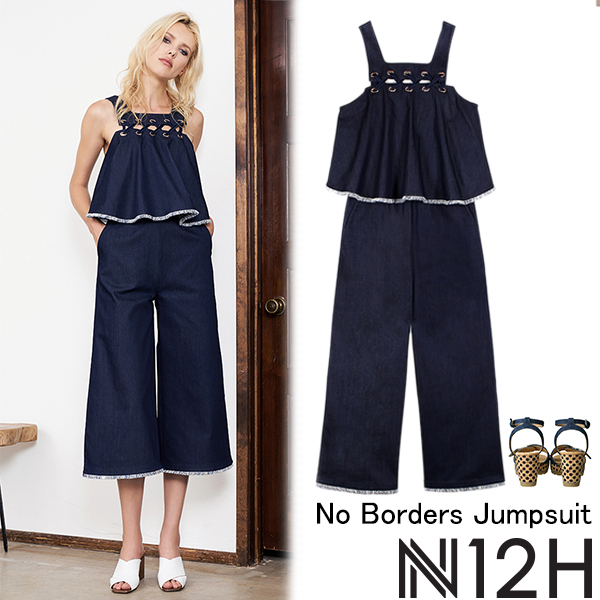 SALE N12H No Borders Jumpsuit(BLU)