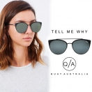QUAY EYEWARE AUSTRALIA Tell me why(BLK)