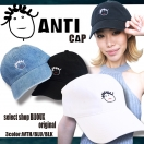 【BLK/Back in stock】BIJOUX original ANTI cap(WHT/BLK/BLU)