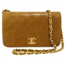 CHANEL Mini matelasse chain shoulder bag(CAM)
