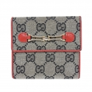 GUCCI GG canvas small wallet(RED)