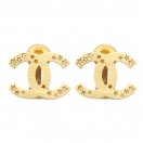 CHANEL Cocomark star earring(GLD)