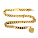 CHANEL Cocomark chain belt(GLD)