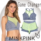 SALE MINK PINK Game changer croptop&shorts