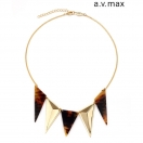 a.v.max Studs sharp necklace