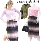 Tiered tulle skirt(MLT)