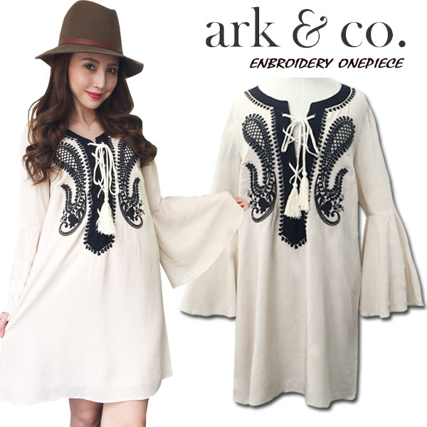 ark&co. Embroidery onepiece
