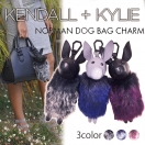 KENDALL + KYLIE NORMAN DOG BAG CHARM(3TYPE)